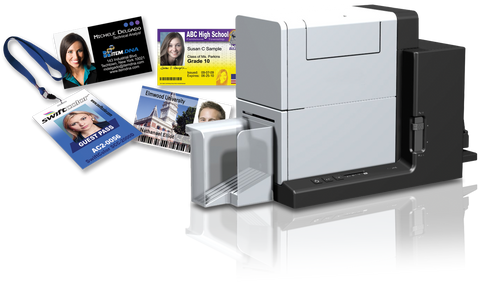 SwiftColor SCC-4000D Large Credential printer for event badges