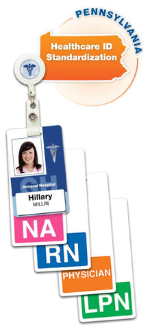 Badge Buddies cards for Healthcare Regulations HB 1482