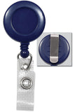 Blue Badge Reel with Reinforced Vinyl Strap & Belt Clip 2120-3002