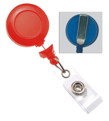No-twist Red Round Badge Reel 2120-3057
