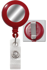 Red Badge Reel with Silver Sticker & Belt Clip 2120-3106