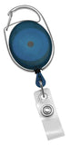 Translucent Blue Badge Reel 2120-7052
