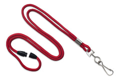 "Red 1/8"" Lanyard with Swivel-Hook 2137-2006"
