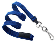"Royal Blue 3/8"" Lanyard with Swivel-Hook 2137-5002"