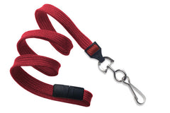 "Red 3/8"" Lanyard with Swivel-Hook 2137-5006"