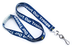 "Yellow Ribbon ""Support Our Troops"" Lanyard 2138-5255"