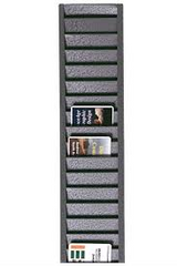 Vertical ID Badge Rack