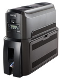 Datacard® CD800™ Duplex Card Printer with Single Commercial Lamination Module Left Angle