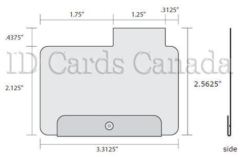 CR80 Hospital Card Room Jacket 24-013-00003 | idcardscanada com