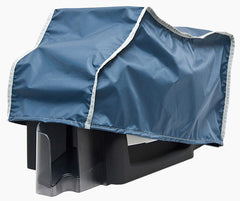 Custom fit dust cover for HID Fargo HDP5000 Simplex (Single-Sided) card printer.