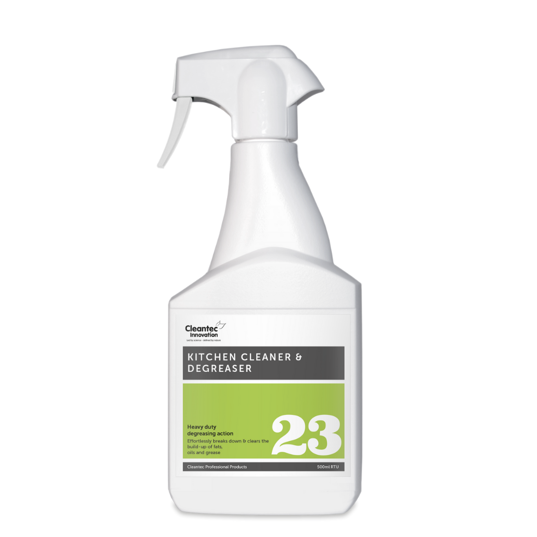 Pro 23 Kitchen Cleaner and Degreaser: 500ml Trigger Spray Bottle