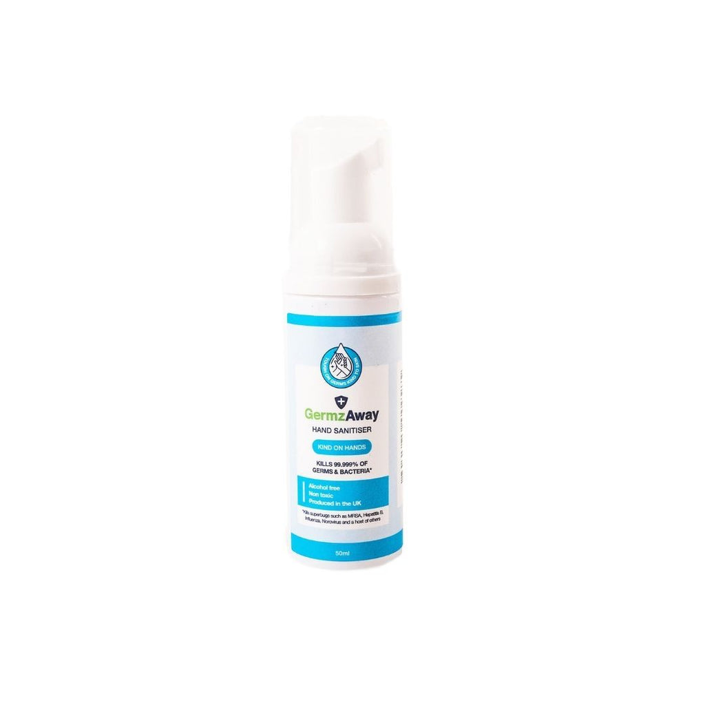 50ml Hand Sanitiser with Alcohol-Free Foam.