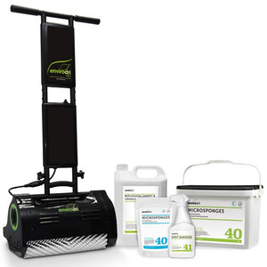 The Complete Envirodri Dry Carpet Cleaning System.