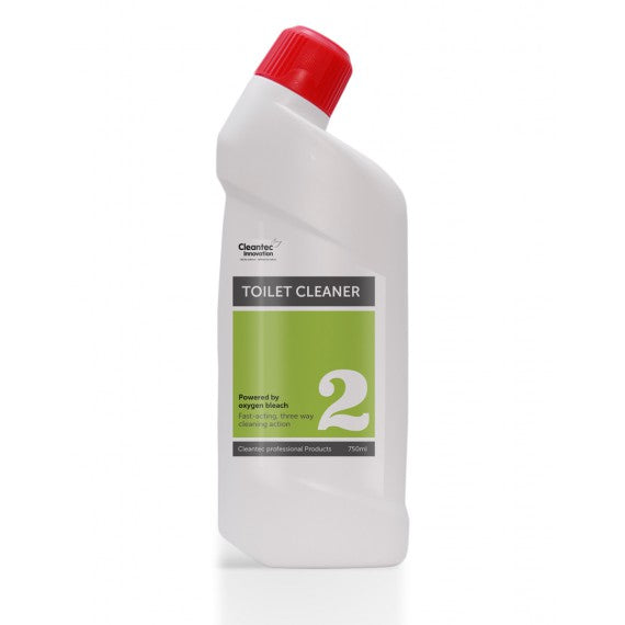 Pro 2 Toilet Cleaner: 15 x 750ml Swan Neck Bottles.