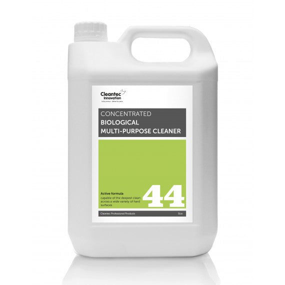 Pro 44 Biological Multi-Purpose Cleaner: 2x5 Litre Jerry Can.
