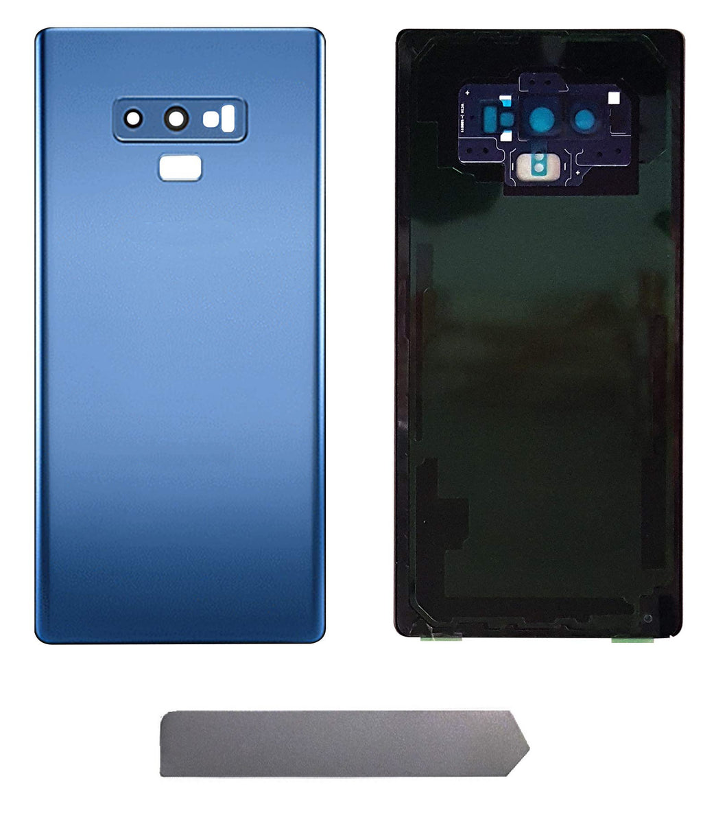 Samsung Note 9 Blue Back Glass Cover with Pre-Installed Adhesive (N960)