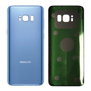Samsung Galaxy S8 Coral Blue Back Glass Cover with Pre-Installed Adhesive (G950)