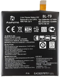 LG Google Nexus 5 Replacement Battery 2300mAh D820, D821, BL-T9 (Premium Asesino)