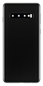 Samsung Galaxy S10 Midnight black Back Glass Cover with Pre-Installed Adhesive (G975)