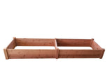 GroGardens 2' x 8' Redwood Raised Garden Bed