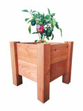 "GroGardens 1' x 1' x 16""  Redwood Elevated Garden Bed"