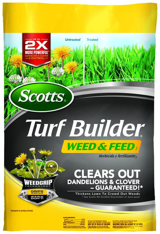 Scotts  Turf Builder  28-0-3  Weed and Feed  For All Grass Types 14.5