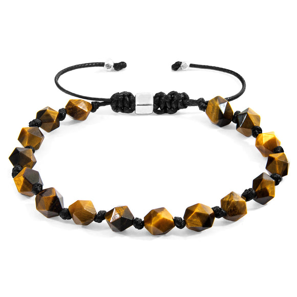 Brown Tigers Eye Zebedee Silver and Stone Beaded