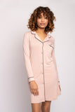 Bamboo Nightshirt in Pink
