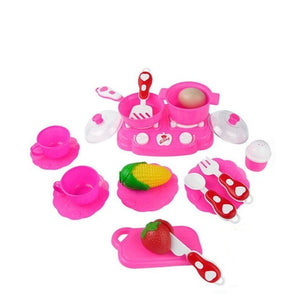 Educational Toy 18PC Cutting Fruit Vegetable