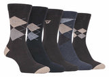 5 Pack Mens Classic Cotton Dress Socks