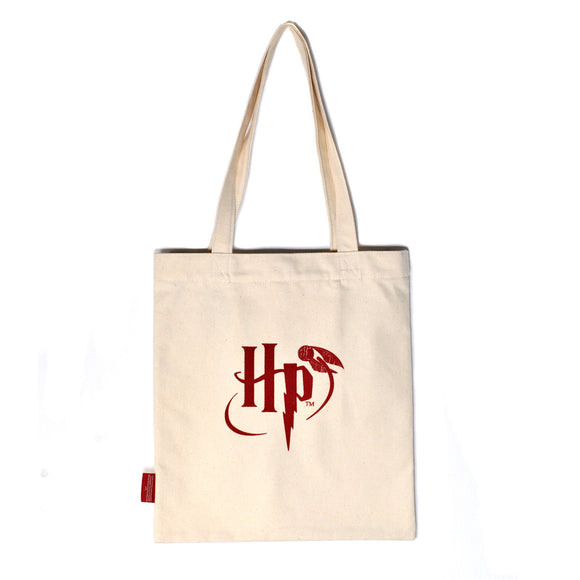 Harry Potter Shopper Bag - Hogwarts Slogan