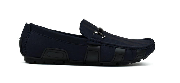 Racing Stripes Loafer Navy
