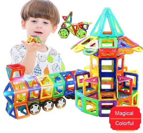 Big Size Magnetic Designer Construction Set Toy