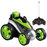 Wireless Remote Control Jumping Flip Wheels Toy Car