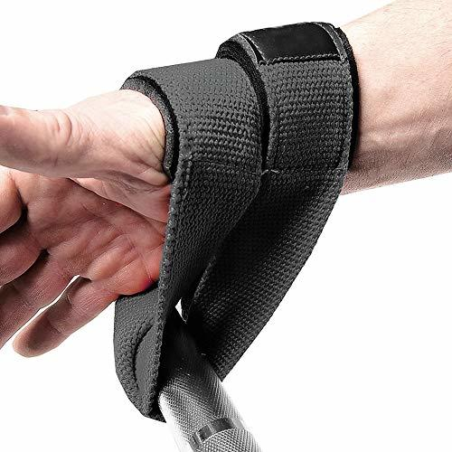 Figure 8 Weight Lifting Gym Straps Padded Fitness
