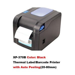 Barcode printer with thermal receipt
