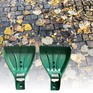 1 Pair Leaf Scoops Rake Hands Leaf Grabbers Garden Yard Hand Rakes for Picking Up Leaves Grass Clippings Debris Garbage