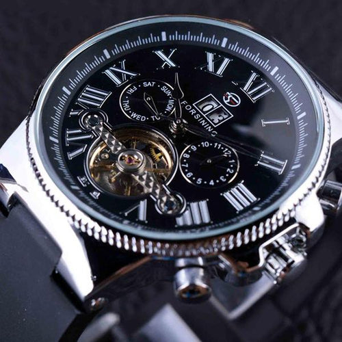 Bezel Tourbillion Designer Watch