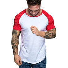 Load image into Gallery viewer, Fashion Color Matching Slim Short-Sleeved T-Shirt