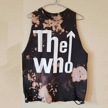 Load image into Gallery viewer, Men's Round Collar Sleeveless Printing Broken Holes Vest