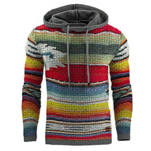 Load image into Gallery viewer, Casual Rainbow Print Sweatershirt