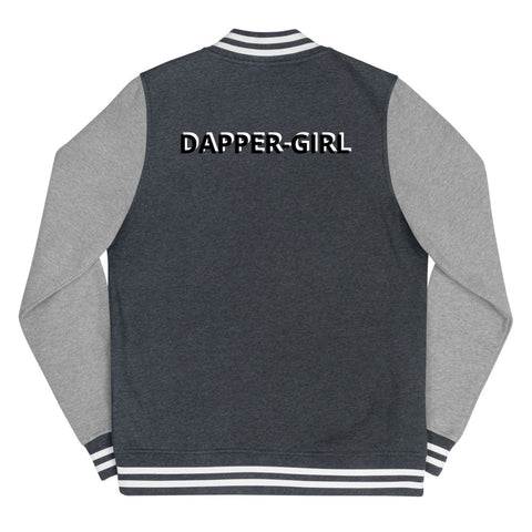 DAPPER-GIRL LETTERMAN JACKET