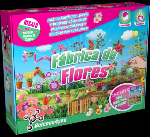 Science 4 You Flower Factory ES