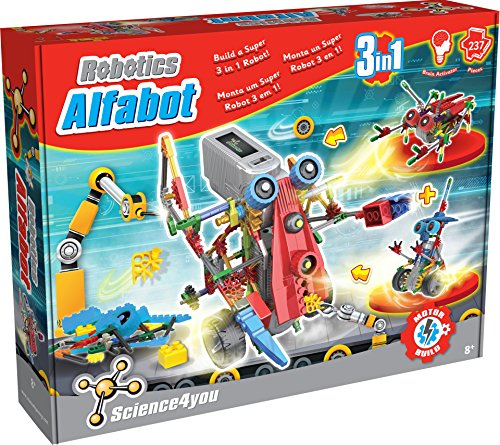 Science 4 You Robotics Alfabot 3 em 1