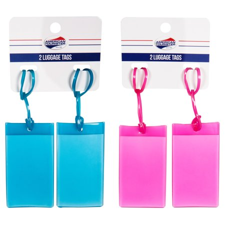 American Tourister 2pk Jelly Luggage Tag (AT-0333JTA)