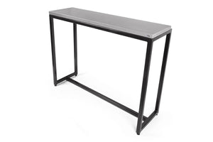 City-Metal Concrete Consule Table