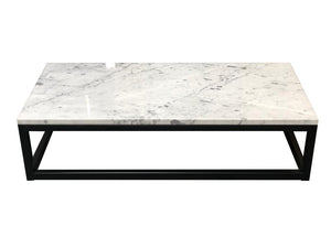 Sorrento Carrara Marble Coffee Table