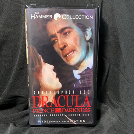 Dracula: Prince of Darkness (VHS)