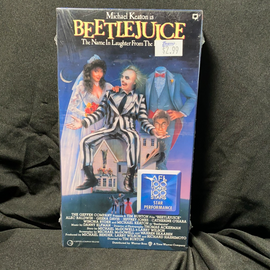 Beetlejuice (VHS) New / Factory Sealed