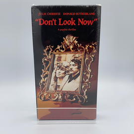 Don't Look Now (VHS) New / Factory Sealed